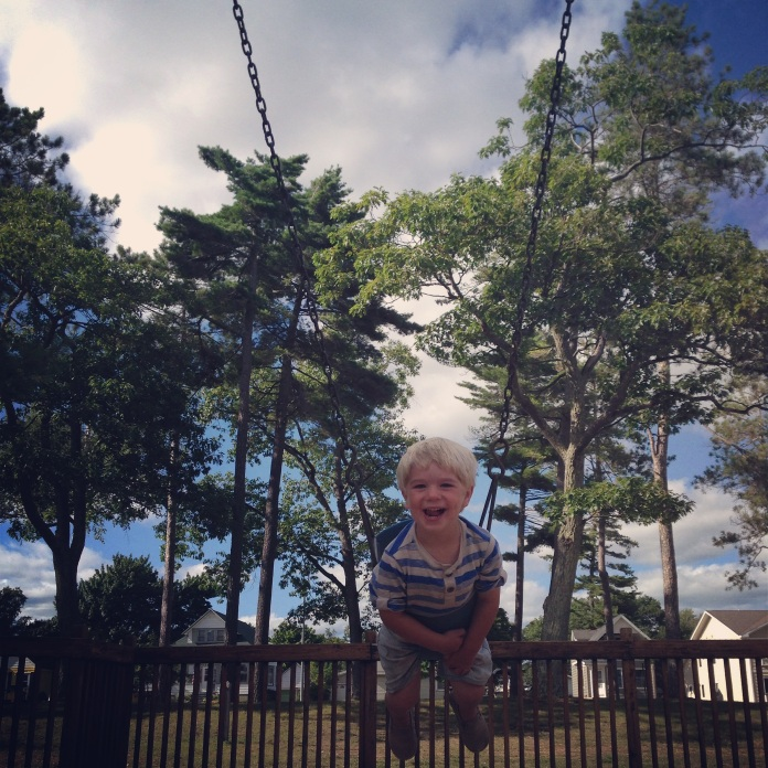 Graham in a swing 2014
